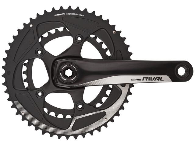 SRAM Rival 22 Crankset 50/34 BB30 11-speed black